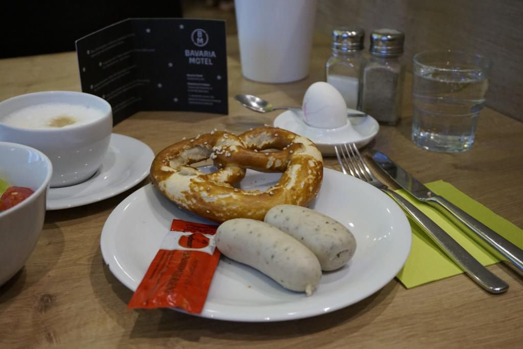 Bavaria Motel Freiham Brekafast