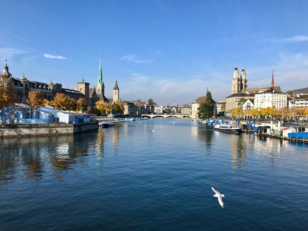 Quaibrücke, Quay Bridge, Zurich, Zürich