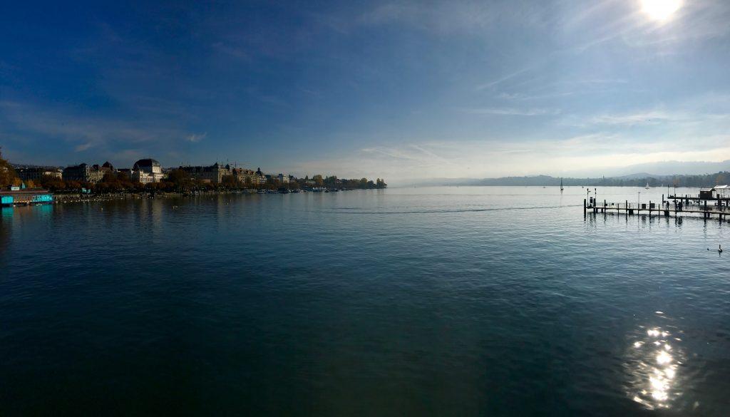 Quaibrücke, Quay Bridge, Zurich, Zürich, Lake Zurich