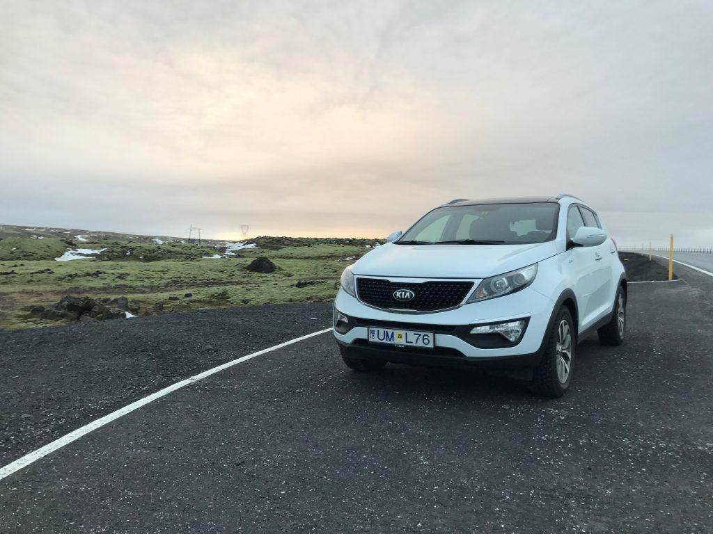 Hertz, Kia, Iceland