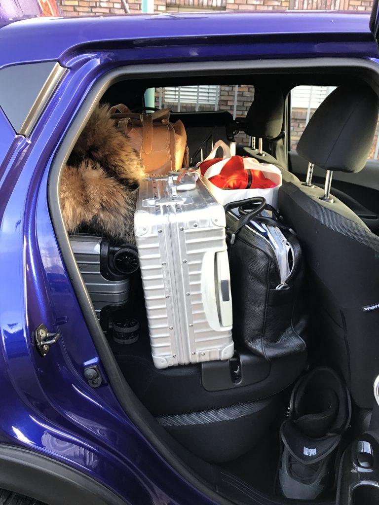 Nissan Juke, Skiing holiday, Fasten Ur Seatbelts