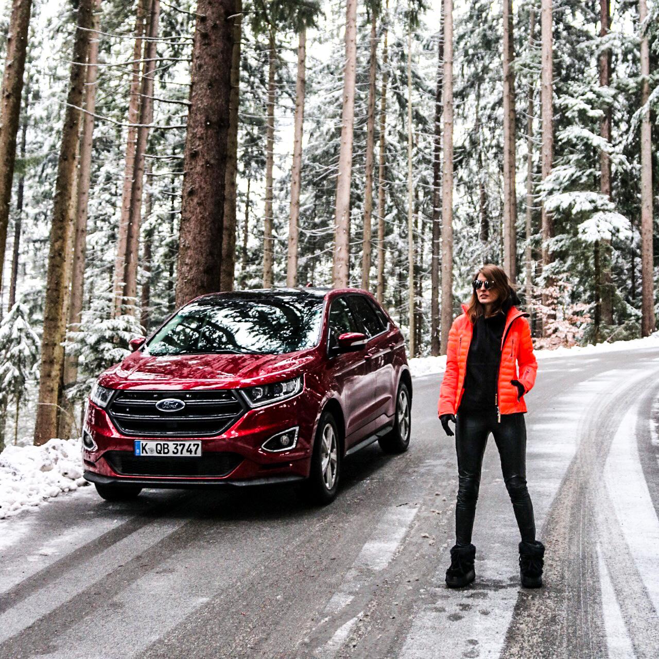 Ford Edge, Fasten Ur Seatbelts, Annika, München, Munich, Guide