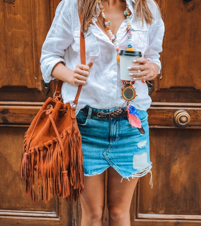 OOTD, Jeans Skirt Outfit, Summer Outfit, Casual outfit